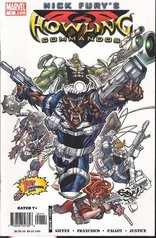 NICK FURY'S HOWLING COMMANDOS #1-6 (Marvel 2005) COMPLETE SET