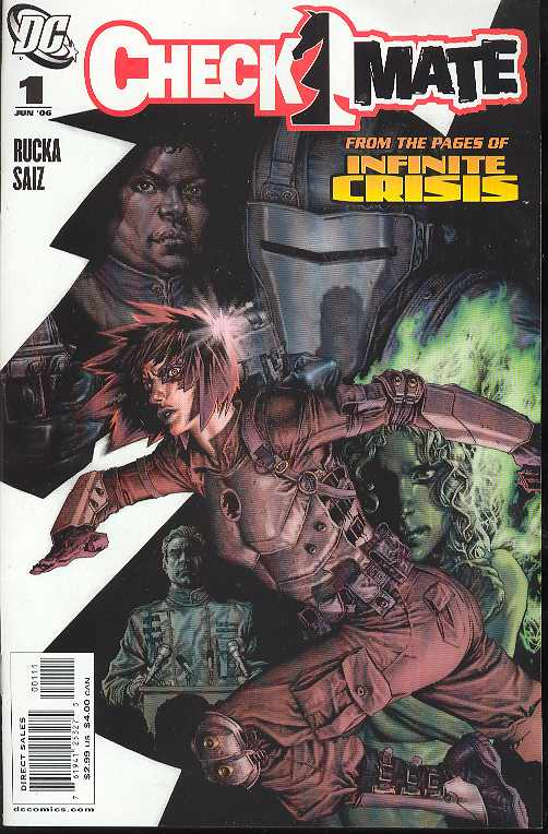 CHECKMATE #1-12 (DC 2006) COMPLETE RUN