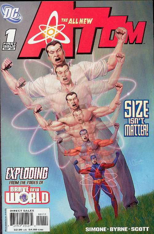 ALL NEW ATOM #1-9 (DC 2006) COMPLETE SET