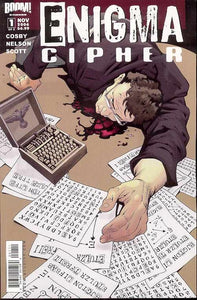 ENIGMA CIPHER #1-2 (Boom 2006) COMPLETE SET
