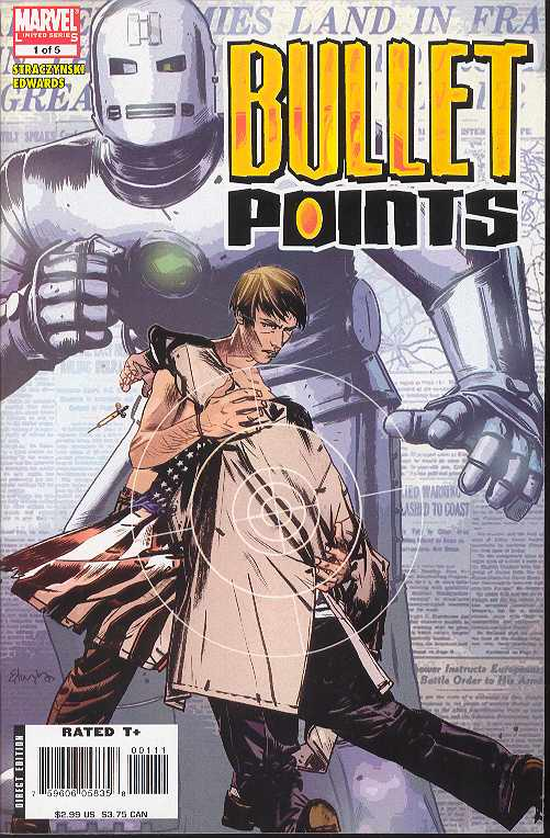 BULLET POINTS #1-5 (2006 Marvel Comics) COMPLETE SET