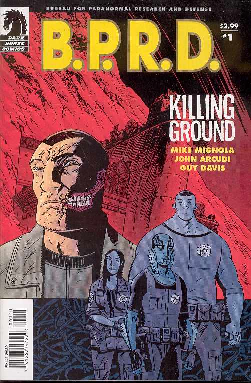 BPRD KILLING GROUND #1-5 Complete Set