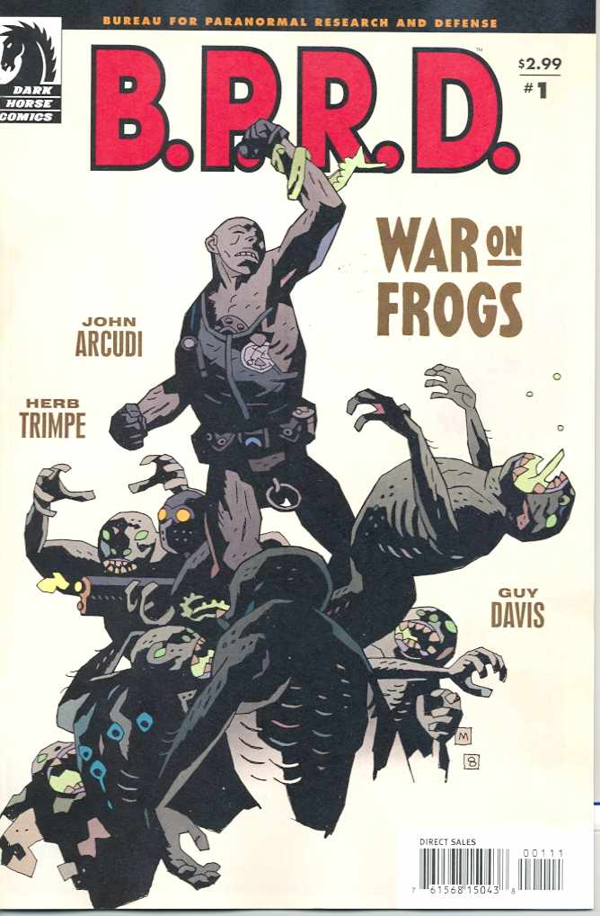 BPRD WAR ON FROGS #1-4 Complete Set