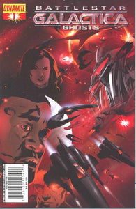 BATTLESTAR GALACTICA: GHOSTS (2008 Dynamite) #1-4 COMPLETE SET