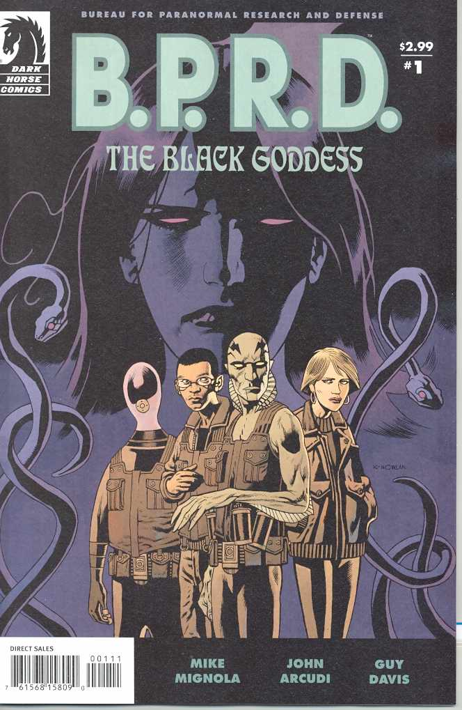 BPRD THE BLACK GODDESS #1-5 Complete Set