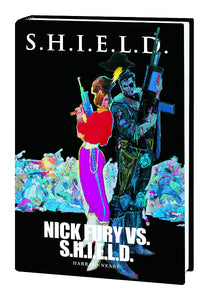 SHIELD NICK FURY VS SHIELD PREM HC