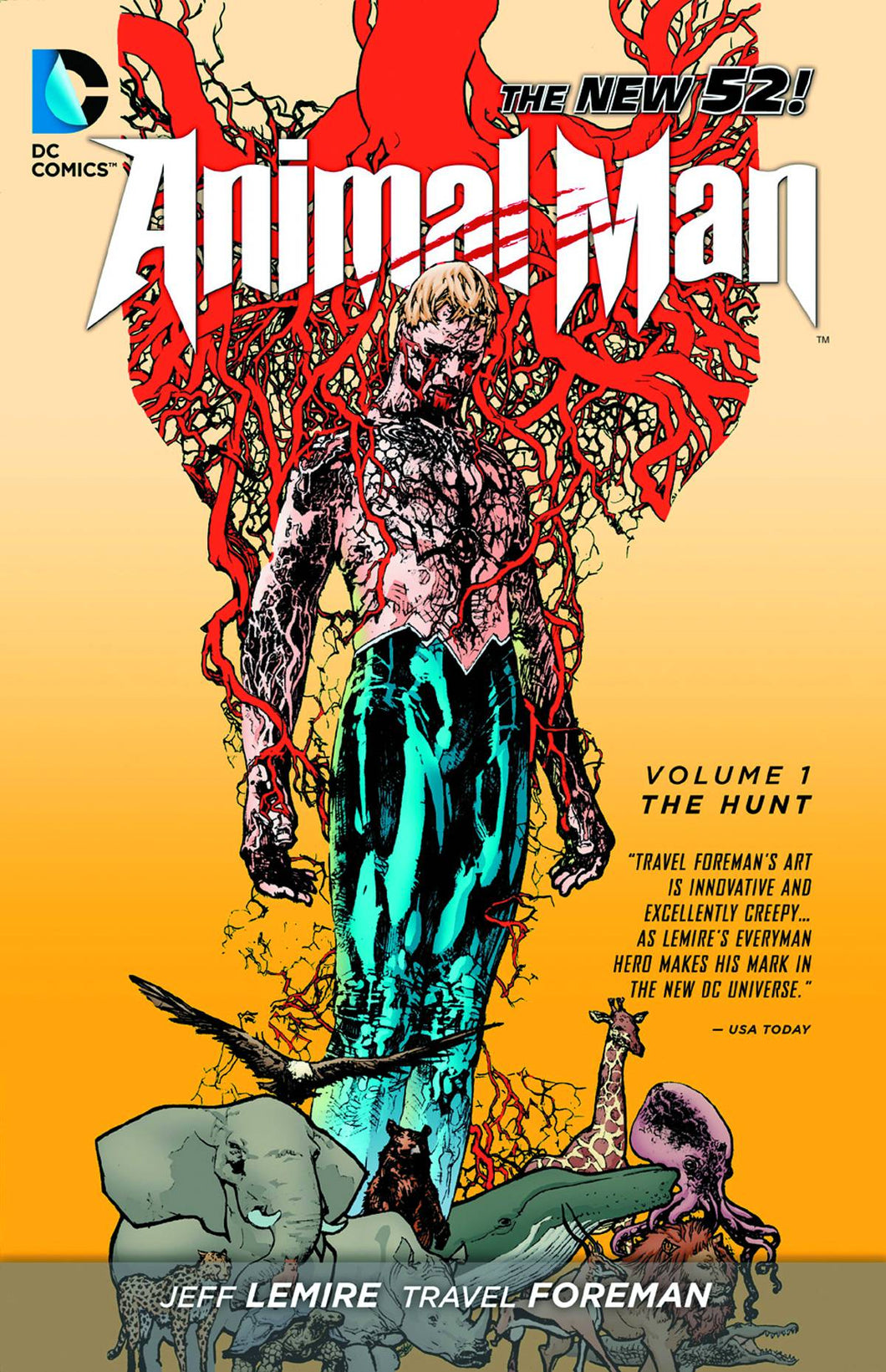 ANIMAL MAN TP VOL 01 THE HUNT