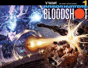 ARMORHUNTERS: BLOODSHOT #1-3 (Valiant Entertainment) Complete Set