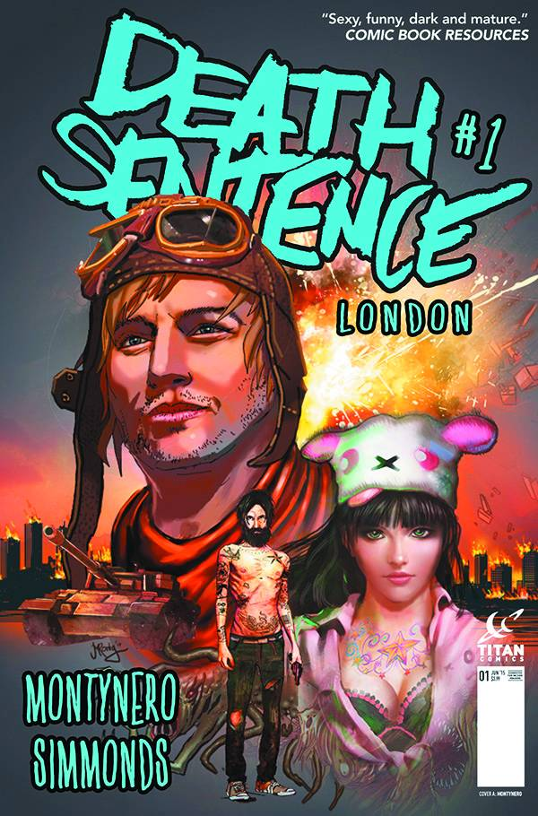 DEATH SENTENCE: LONDON (2015 Titan Comics) #1-6 COMPLETE SET