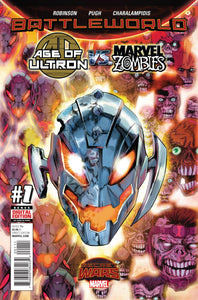 SECRET WARS BATTLEWORLD AGE OF ULTRON VS MARVEL ZOMBIES #1-4 (2015) COMPLETE SET