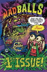 MADBALLS #1-4 (Lion Forge 2016) COMPLETE SET