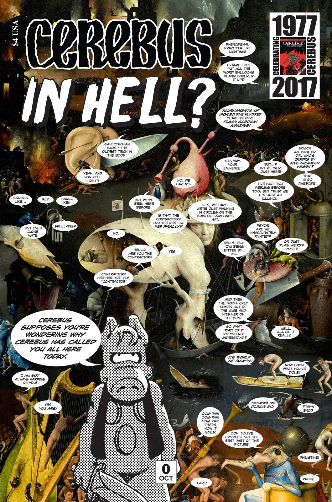 CEREBUS IN HELL #0-4 (Aardvark-Vanaheim) Complete Set