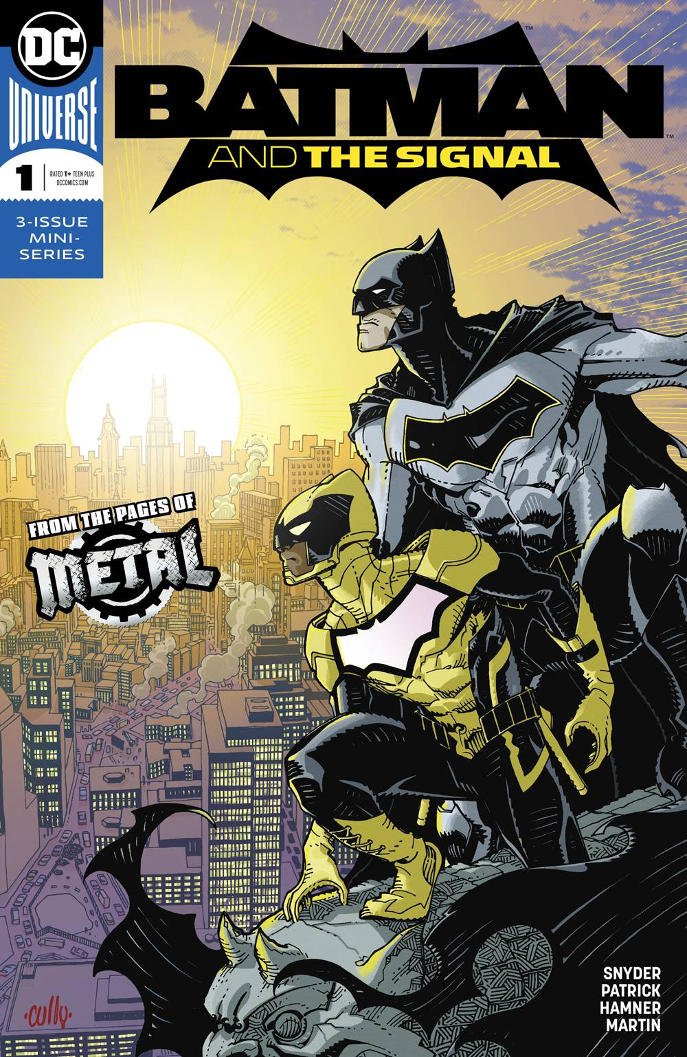 BATMAN AND THE SIGNAL #1-3 (DC 2017) COMPLETE SET