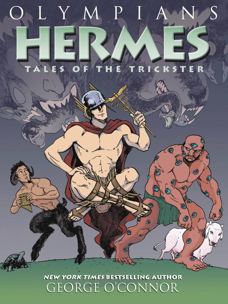 OLYMPIANS GN VOL 10 HERMES TALES OF TRICKSTER