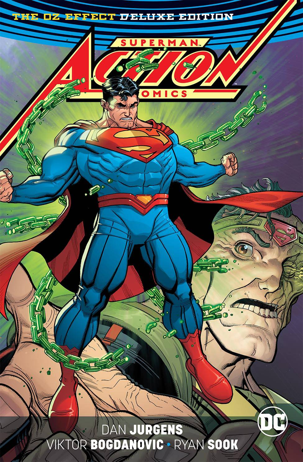 SUPERMAN ACTION COMICS DLX ED MR OZ HC REBIRTH