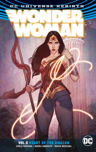 WONDER WOMAN TP VOL 05 HEART OF THE AMAZON