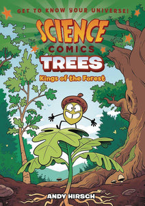 SCIENCE COMICS TREES GN