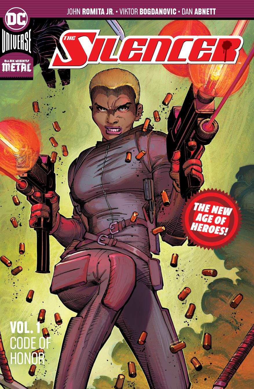 SILENCER TP VOL 01 CODE OF HONOR