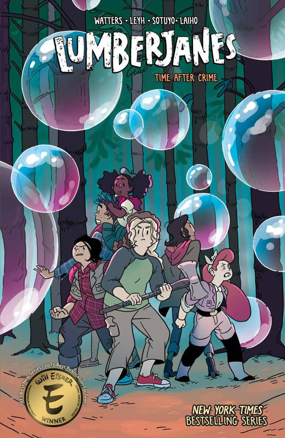 LUMBERJANES TP VOL 11 TIME AFTER CRIME