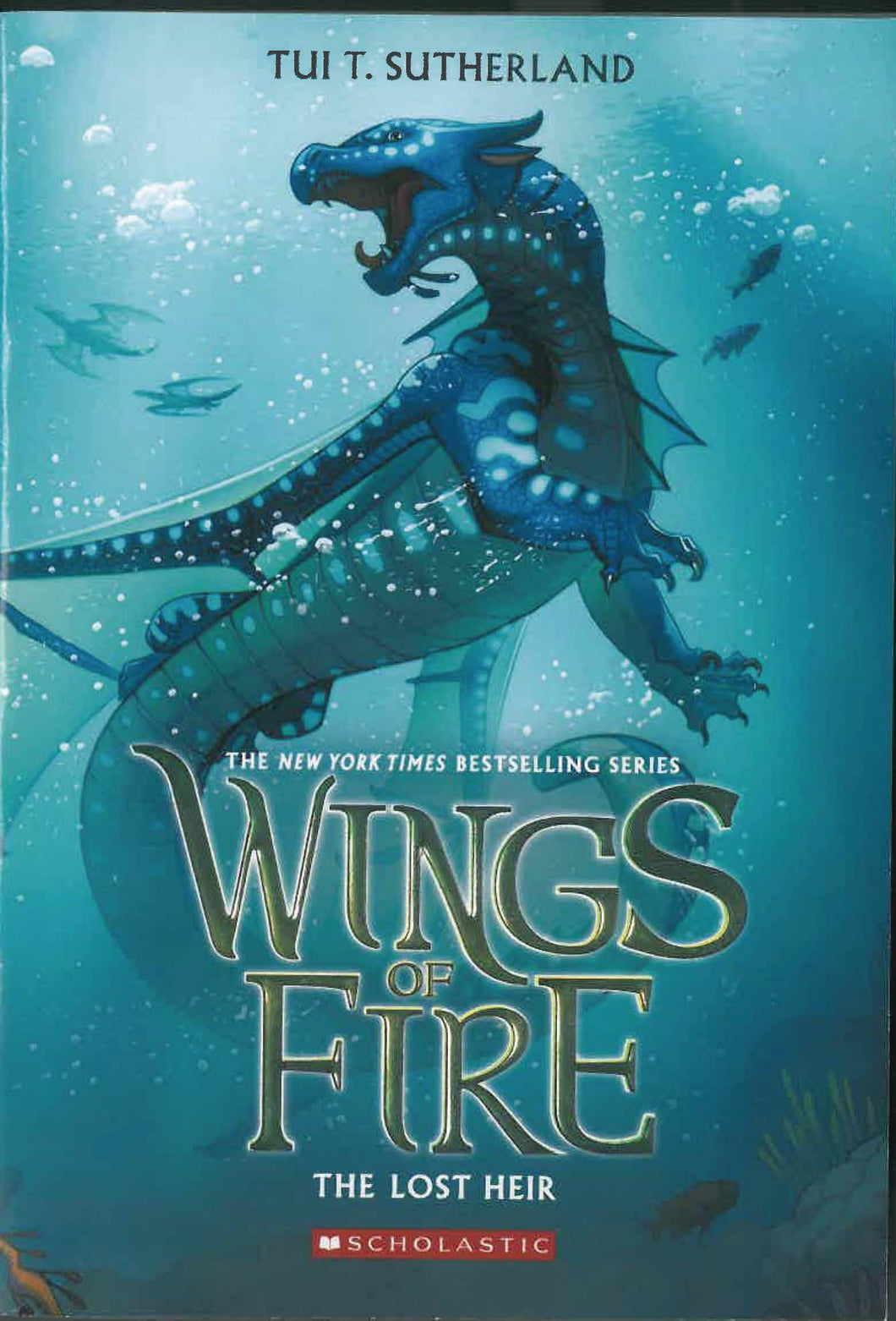 WINGS OF FIRE SC GN VOL 02 LOST HEIR