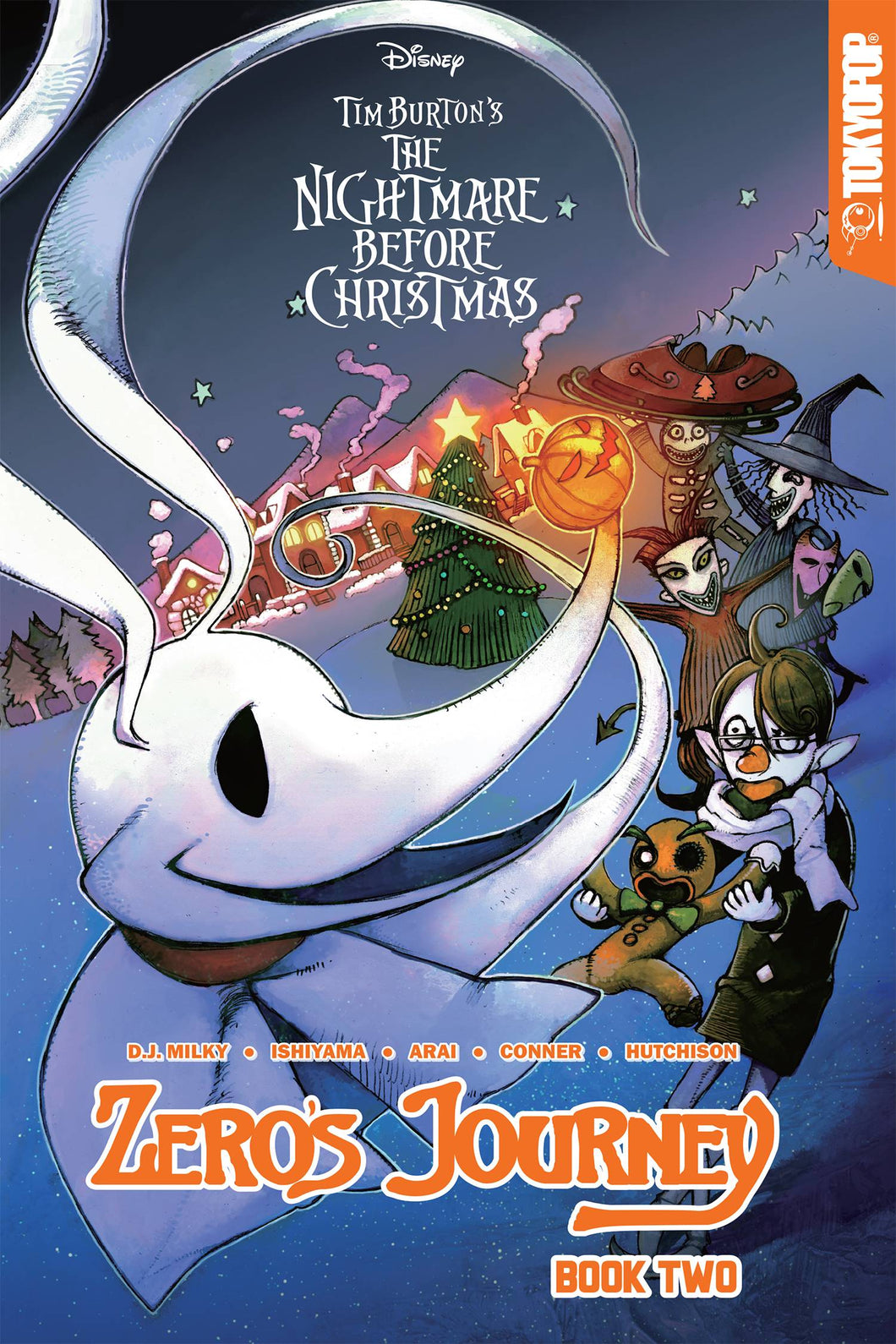 DISNEY MANGA NIGHTMARE CHRISTMAS ZEROS JOURNEY TP VOL 02