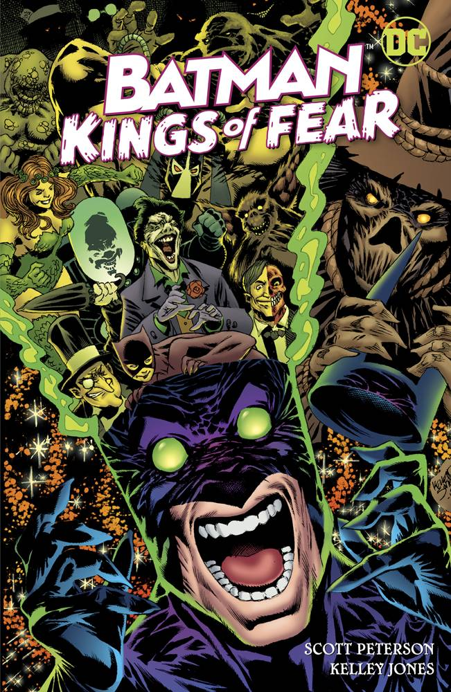 BATMAN KINGS OF FEAR HC