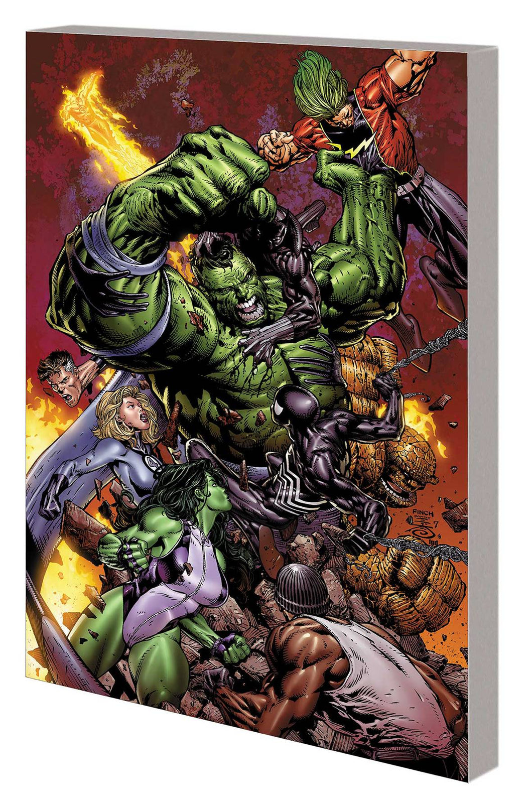 HULK TP WORLD WAR HULK NEW PTG