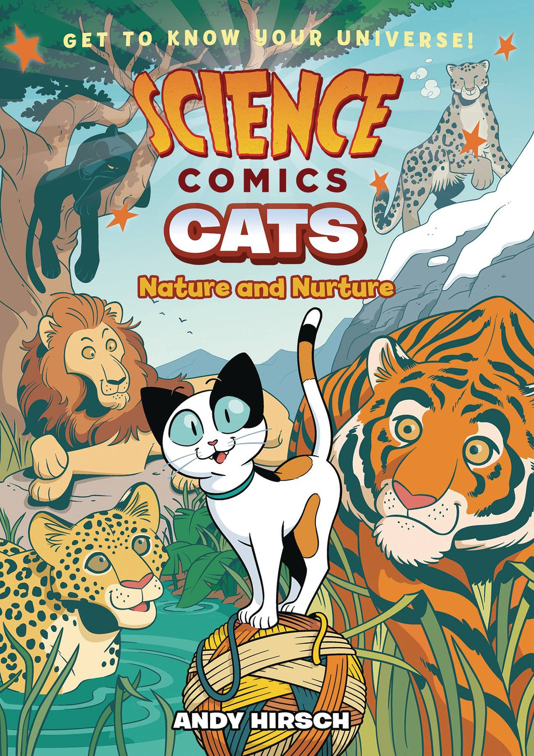 SCIENCE COMICS CATS NATURE & NURTURE GN
