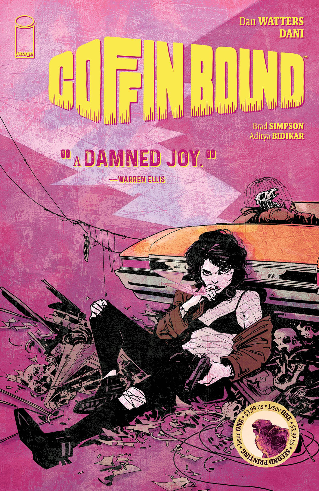 COFFIN BOUND #1-4 (2019 Image Comics) COMPLETE SET