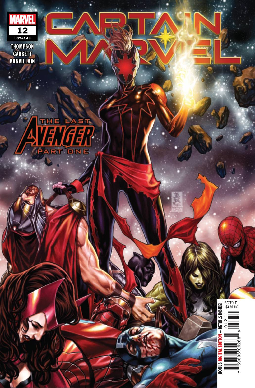 CAPTAIN MARVEL TP VOL 03 LAST AVENGER