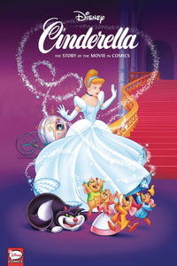 DISNEY CINDERELLA STORY OF MOVIES IN COMICS HC