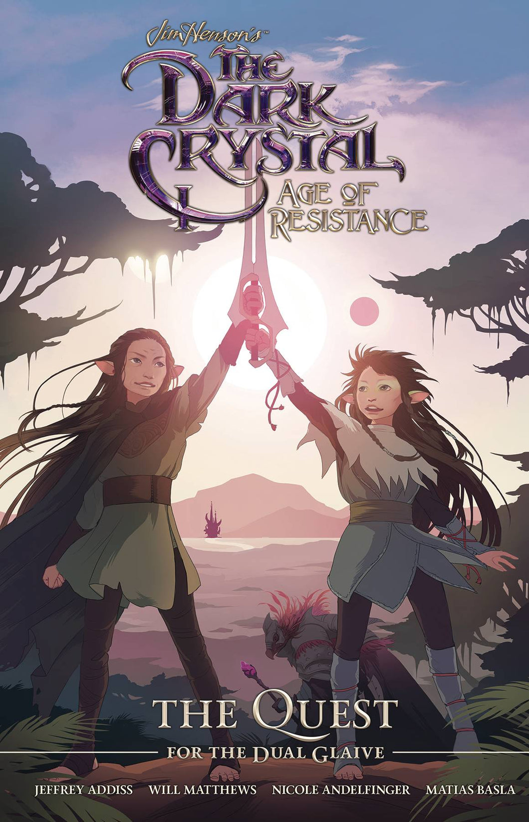 DARK CRYSTAL AGE OF RESISTANCE: QUEST FOR DUAL GLAIVE HC