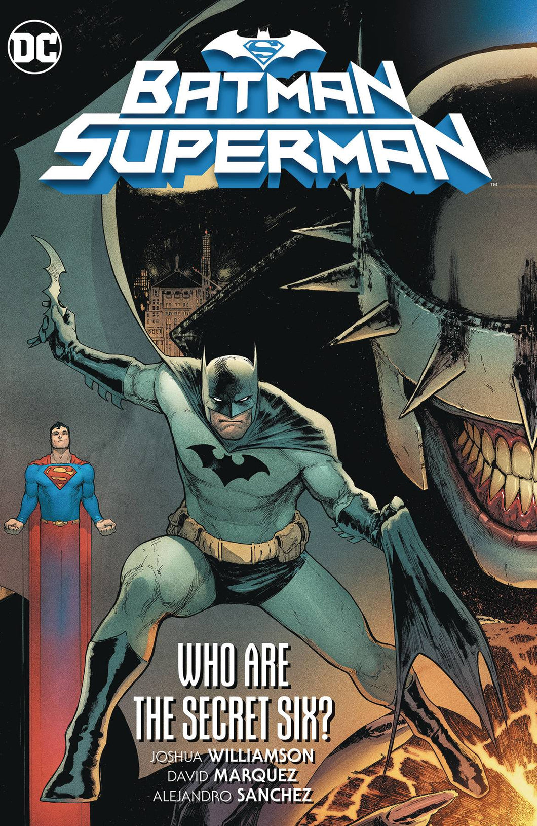 BATMAN SUPERMAN TP WHO ARE THE SECRET SIX?