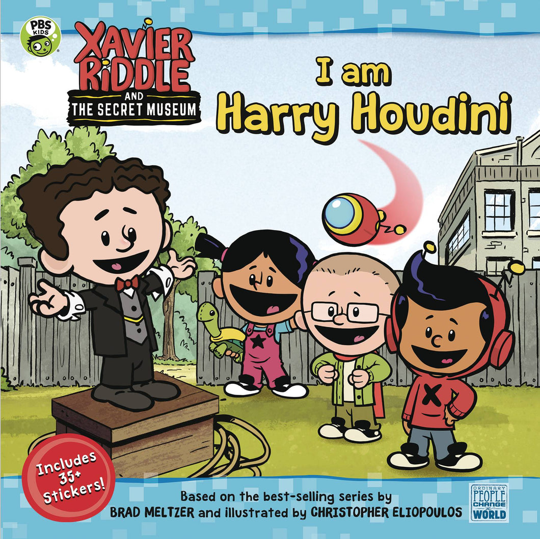 XAVIER RIDDLE & THE SECRET MUSEUM: I AM HARRY HOUDINI GN