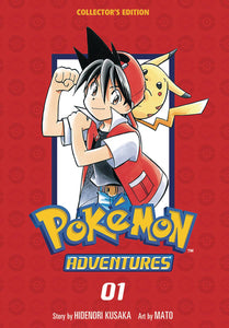 POKEMON ADVENTURES VOL 01 COLLECTOR'S EDITION