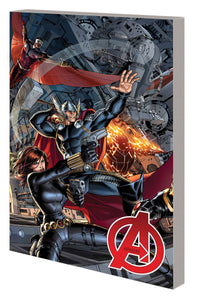 AVENGERS by JONATHAN HICKMAN TP VOL 01 COMPLETE COLLECTION