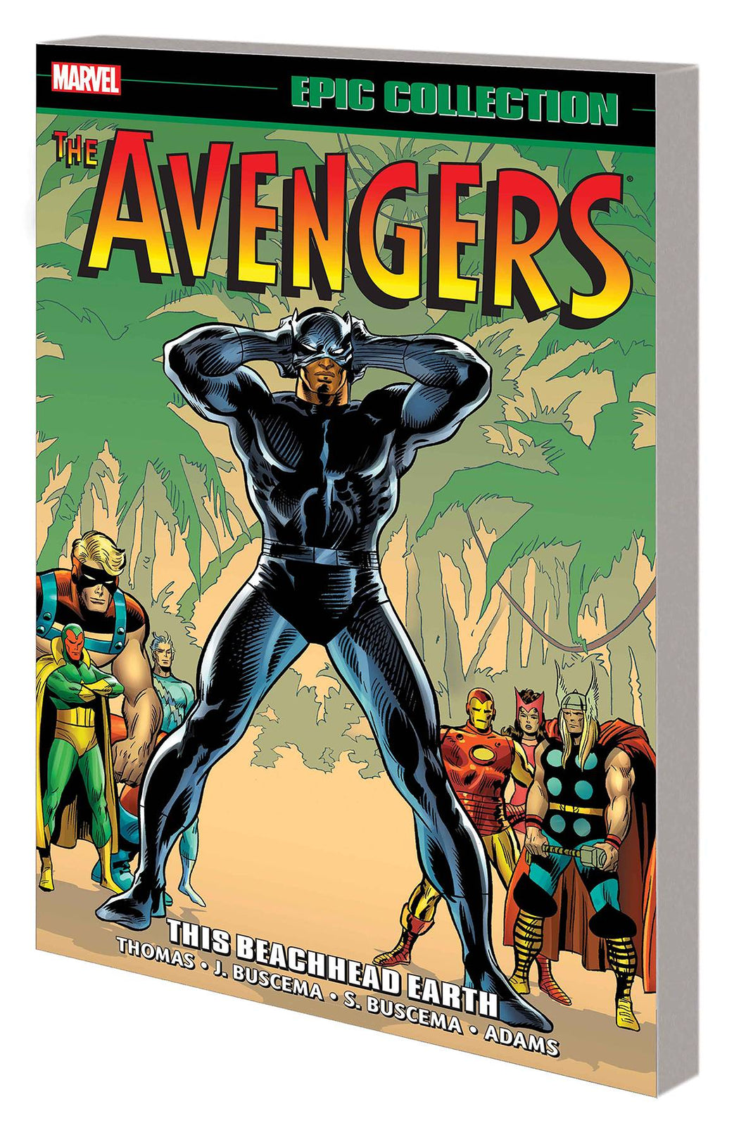 AVENGERS EPIC COLLECTION TP VOL 05 THIS BEACHHEAD EARTH