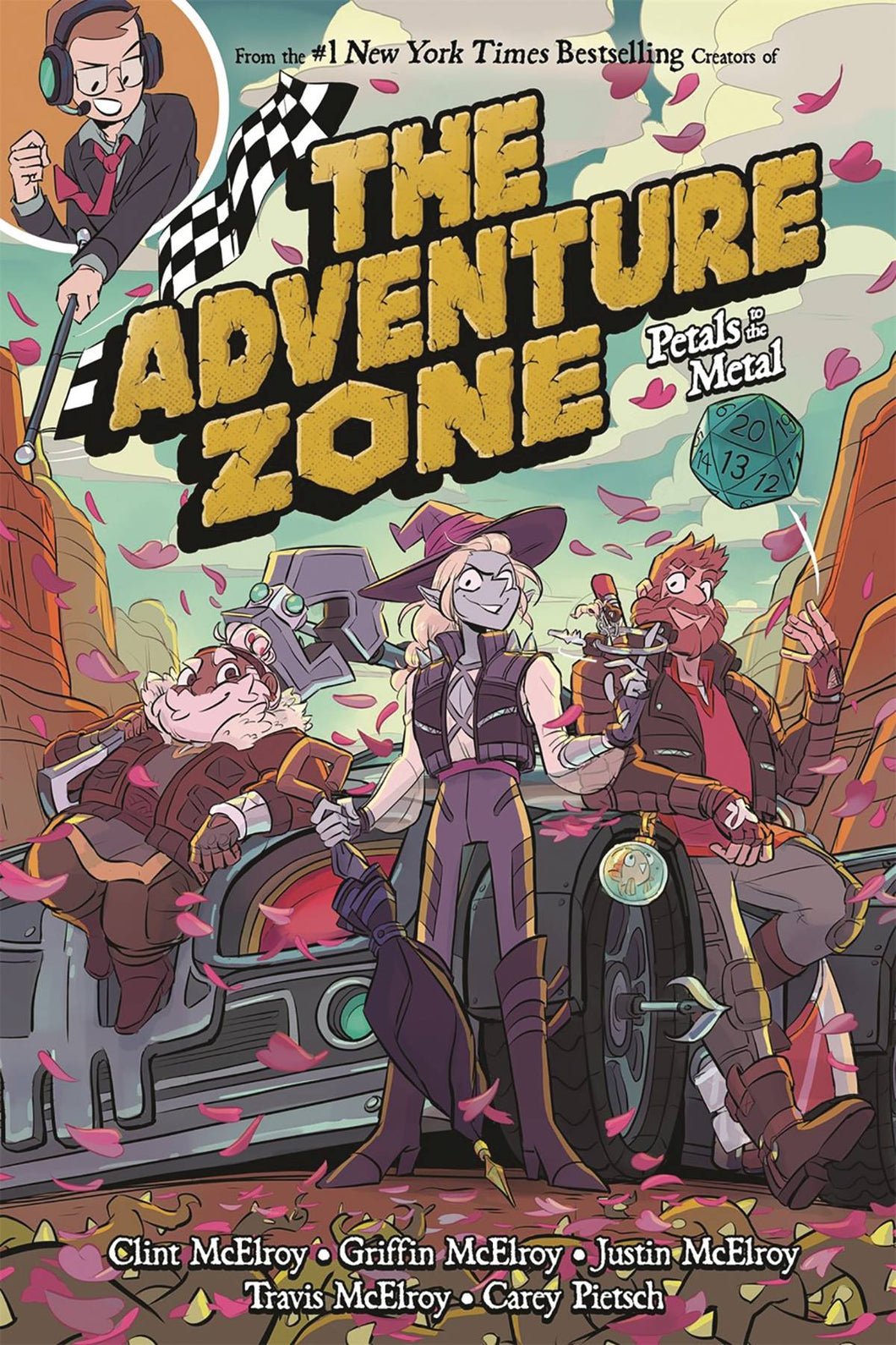 ADVENTURE ZONE GN VOL 03 PETALS TO THE METAL