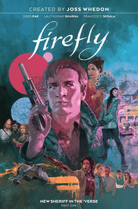 FIREFLY HC VOL 01 NEW SHERIFF IN THE VERSE