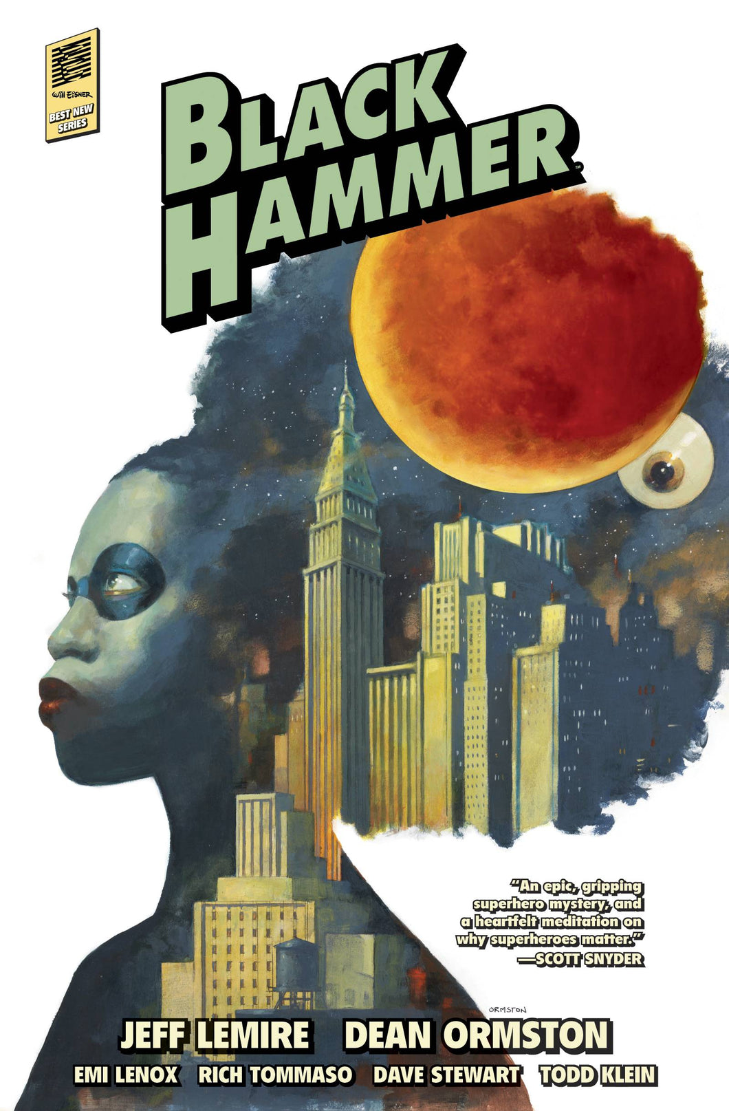 BLACK HAMMER HC VOL 02 LIBRARY EDITION