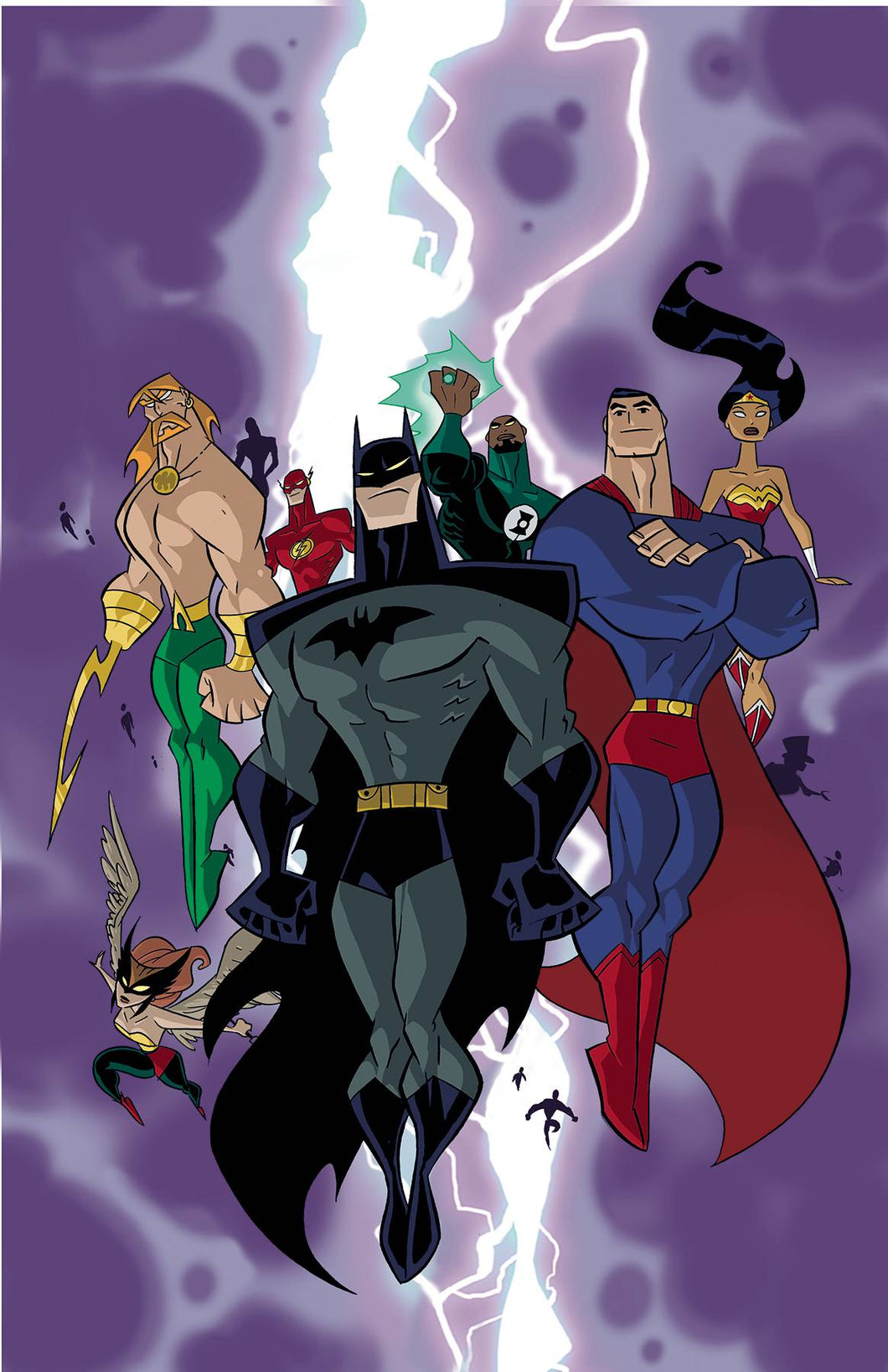 JUSTICE LEAGUE UNLIMITED TP GALACTIC JUSTICE