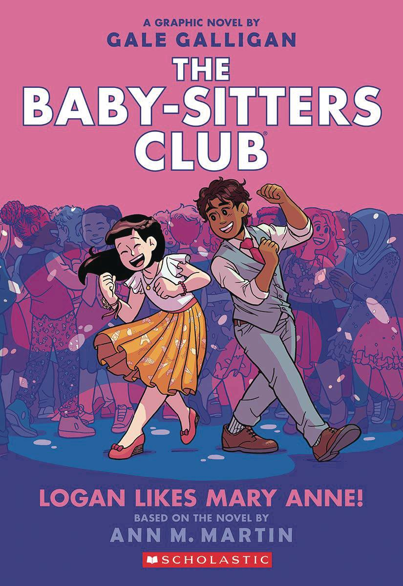 BABY SITTERS CLUB GN VOL 08 LOGAN LIKES MARY ANNE