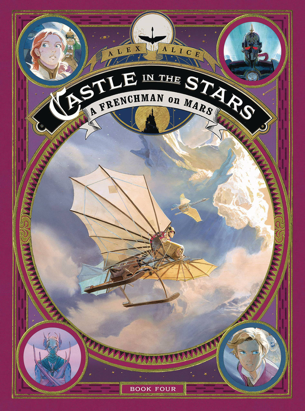 CASTLE IN THE STARS VOL 04 HC FRENCHMAN ON MARS