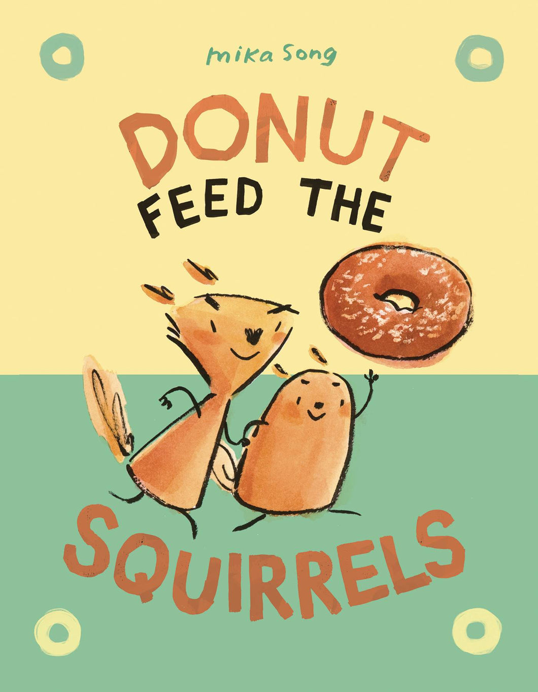 DONUT FEED THE SQUIRRELS HC GN