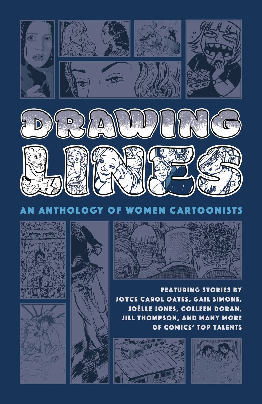 DRAWING LINES: ANTHOLOGY OF WOMEN CARTOONISTS HC