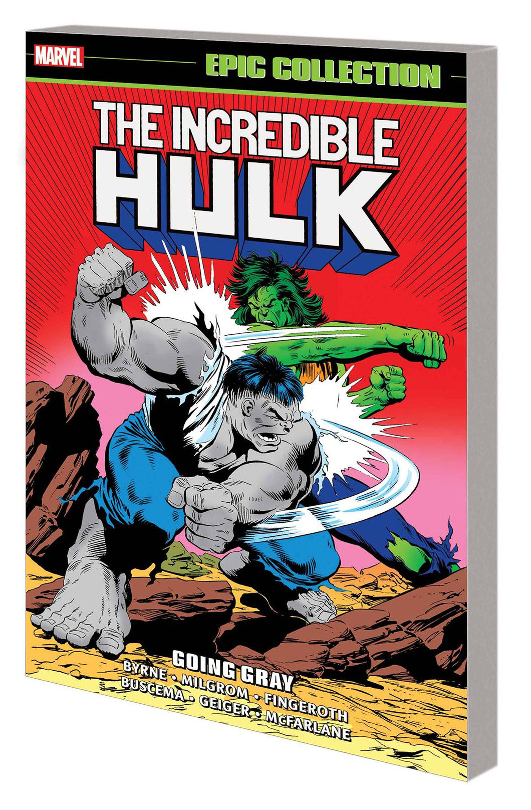 INCREDIBLE HULK EPIC COLLECTION TP VOL 14 GOING GRAY