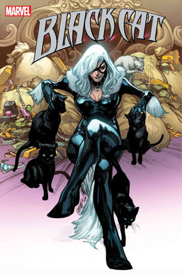 BLACK CAT #4 cover