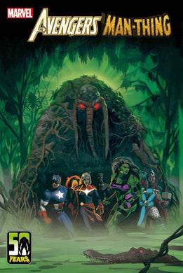AVENGERS CURSE MAN-THING #1 cover