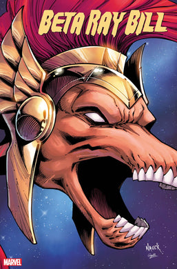 BETA RAY BILL #1 (OF 5) NAUCK HEADSHOT VAR KIB cover