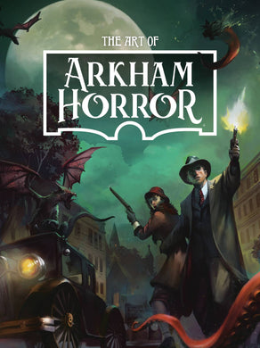 ART OF ARKHAM HORROR HC  cover